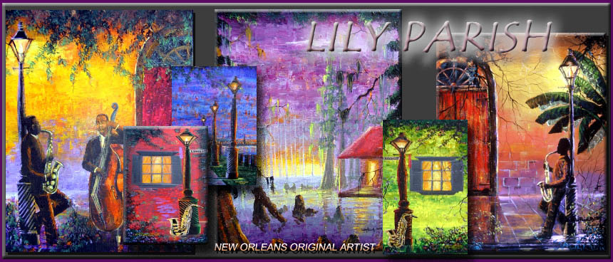 New orleans paintings